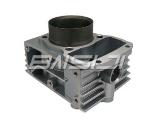 superior-quality Casting Aluminium Cylinder Block of four stroke for BASHAN 200 made by  famous manufacture in Chongqing,China